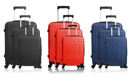 Set de 3 maletas Georges Rech modelo Biarritz con opción de báscula por 104,99 €