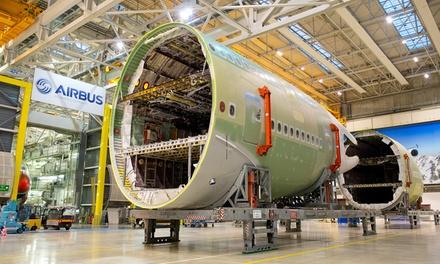 Visite découverte AIRBUS   site dassemblage A380 dès 13,90€ avec Lets Visit Airbus