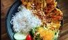 Asiatisches 2-Gänge-Menü