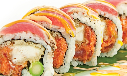 Sushi and Asian Cuisine for Two or Four People at Kai Sushi Asian Fusion (50% Off)
