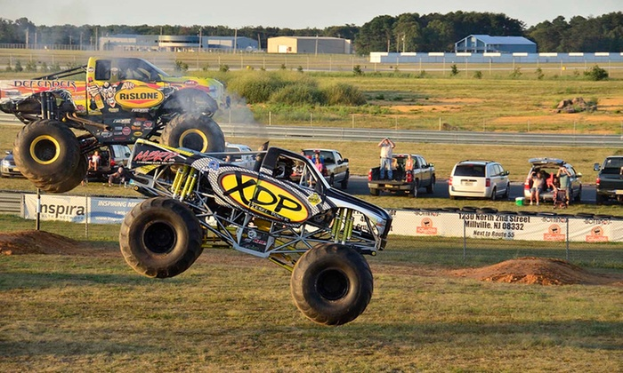 Monster Truck And Thrill Show In Millville NJ Groupon - Millville car show 2018