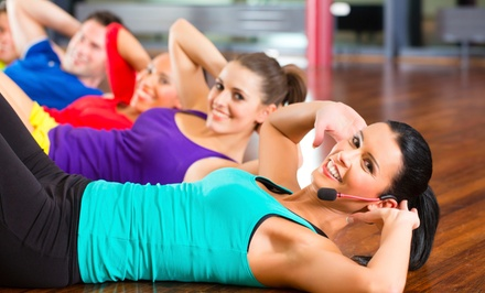 5 or 10 Barre Fitness Classes or One Month of Unlimited Barre Fitness Classes at barre revolution (Up to 57% Off)