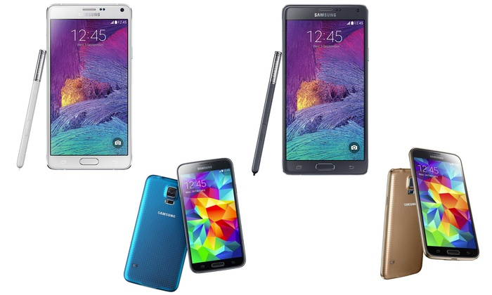 galaxy s4 s5 note 3 or note 4 groupon goods rh groupon com Samsung Galaxy S4 Verizon Samsung Galaxy 4G Verizon