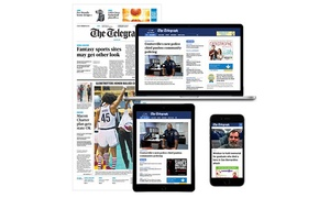 Up to 74% Off Wednesday and Sunday or Digital Subscriptions from Macon Telegraph at Macon Telegraph, plus 6.0% Cash Back from Ebates.