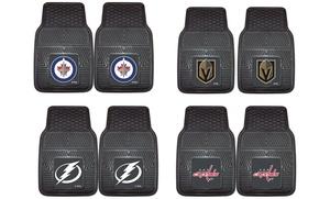 NHL Heavy Duty Vinyl Car Mat Set (2-Piece)