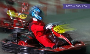 Laserdrome at Dubai Autodrome: Karting and Laser Tag Game Combo for Up to Ten at Laserdrome at Dubai Autodrome