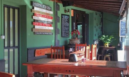 Menú asturiano para 2 o 4 personas desde 22,95 € en La Chabola del Asturiano