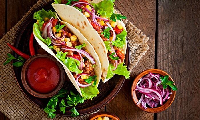 Tacostore - Lyon: 2 menus tacos au choix à emporter avec frites et boissons pour 2 personnes à 12 € au restaurant Tacostore
