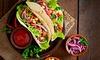 Menu gourmand tacos à emporter