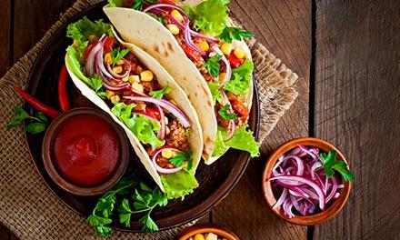 2 menus tacos au choix à emporter avec frites et boissons pour 2 personnes à 12 € au restaurant Tacostore