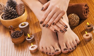 Sunset Hair and Spa: Gel Polish Manicure ($19), Gel Polish Pedicure ($22) or Both ($39) at Sunset Hair and Spa (Up to $85 Value)