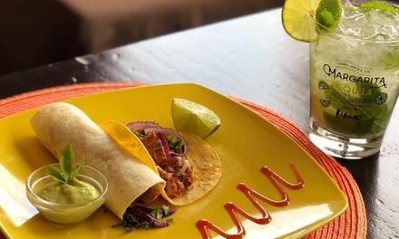 Menú mexicano o colombiano para 2 o 4 con entrante, principal, postre y bebida desde 19,99 € en El Sauce Restaurante