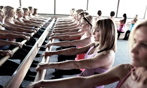 Pure Barre Rancho Cucamonga: One Month of Unlimited Pure Barre Classes or Five Drop-In Classes at Pure Barre (Up to 65% Off)