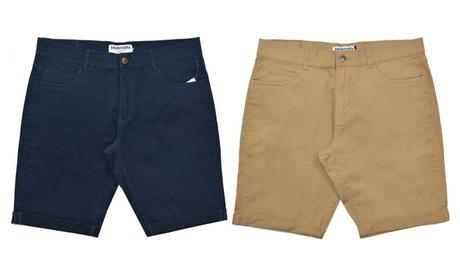 Pantalón chino corto para hombre