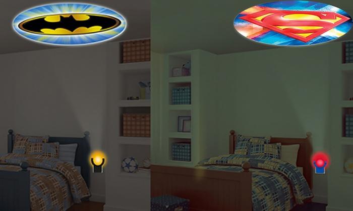 Dc comics batman vs superman projection night light groupon - Batman projector night light ...