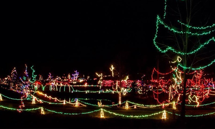 Zootastic Park - Barringer: $8 for Holiday Lights Display and Visit with Santa for One Child at Zootastic Park  ($16.75 Value)