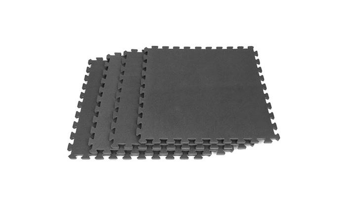 Stalwart Interlocking Eva Foam Mat Floor Tiles Set 6