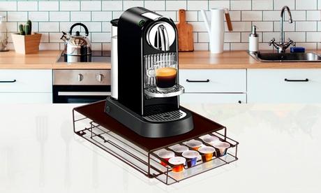 Porta capsule rotante a 360° per 24 capsule oppure supporto per 32 capsule di caffè Nespresso