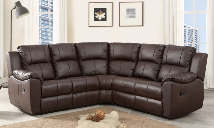 Super Harvard Reclining Corner Sofa Groupon Goods Download Free Architecture Designs Sospemadebymaigaardcom