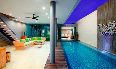Bali, Canggu: From $435 for a Two Bedroom Private Pool Villa Escape for Four People with Breakfast at Villa Sandhya