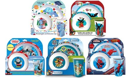 CharacterThemed Dining Set for Kids