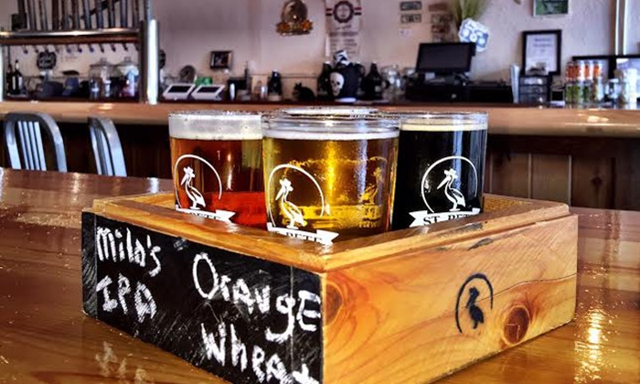 St. Pete Brewing Company - Downtown St. Petersburg: Beer Flights at St. Pete Brewing Company (Up to 46% Off). Two Options Available.