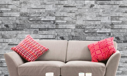 Natural or Straight Design Brick-Effect Wallpapers