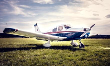 30 oder 60 Minuten selber fliegen im Kleinflugzeug für 1 Person mit AvioAcademy Flight Training (50% sparen*)