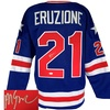 Autographed 1980 USA Hockey Miracle on Ice Jerseys: Mike Eruzione