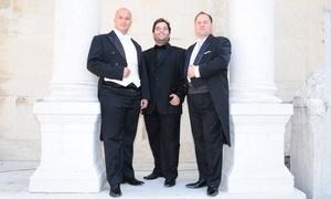 """RG Musikproduktionen: """"Himmlische Nacht der Tenöre"""" in 26 Städten, u. a. Berlin, Oberhausen, Bielefeld, Lübeck, Schwerin (bis zu 41% sparen)"""