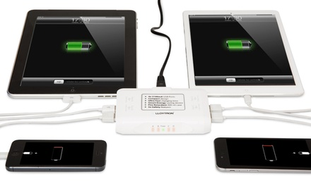 One or Two Ultimate Power Compact USB Chargers in White