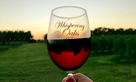 Wine Tasting and Tour Experience for Two, Four, or Ten at Whispering Oaks Winery (Up to 45% Off)