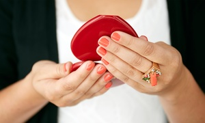 JC Nail Salon: No-Chip Mani and Speciality Pedi or Two Groupons, Each Good for a No-Chip Mani at JC Nail Salon (Up to 45% Off)