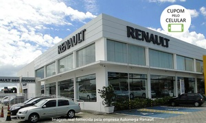 Automega Renault: Automega Renault – Santa Mônica: higienização do A/C, geometria e balanceamento (opção de limpeza dos bicos)