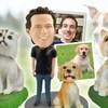 Up to 65% Off Custom Pet Bobbleheads from Custom Pet Bobbles
