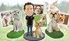 Up to 64% Off Custom Pet Bobbleheads from Custom Pet Bobbles