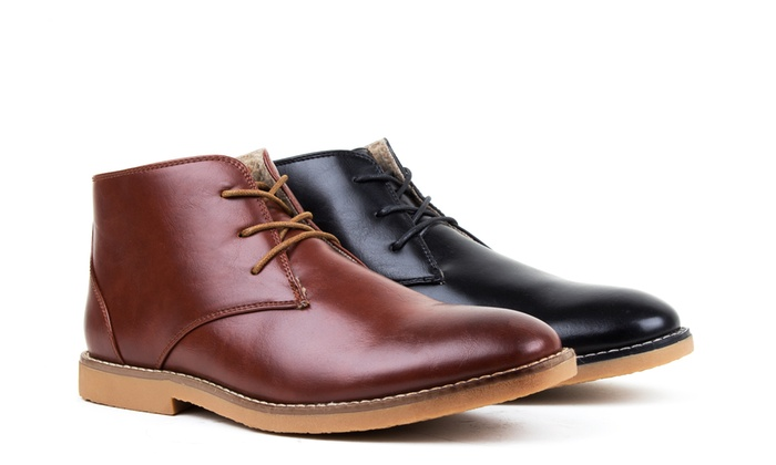 67% Off on Harrison Men's Chukka Boots | Groupon Goods