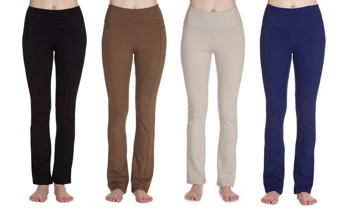 Women's Stretchy Ponte Pants
