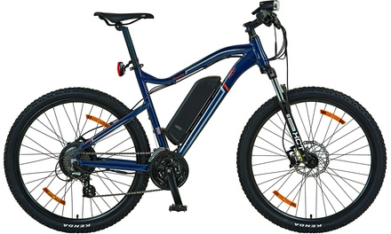 A2B Kroemer Mountain-Bike in Blau mit stabilem hydrogeformtem Alurahmen (Frankfurt)