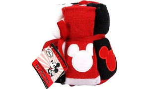 Disney Mickey Mouse Washcloth Set (6-Pack)