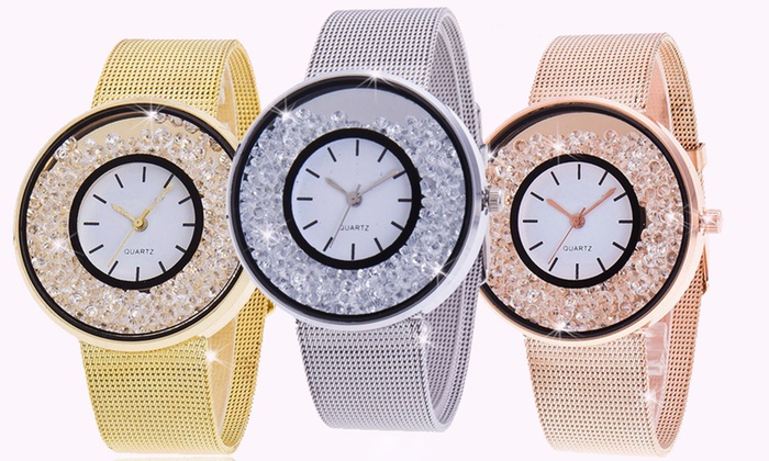 Orologio con cristalli Be Jewels