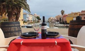 Arroz meloso de bogavante, con entrante, postre y botella de vino desde 16,90€ en el Mosquetero, Port Saplaya