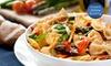 3-Course Italian Dinner + Wine