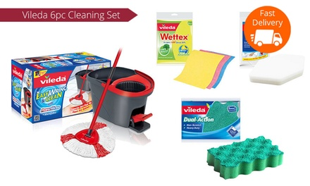 49 For A Vileda Easy Wring Spin Mop And Cleaning