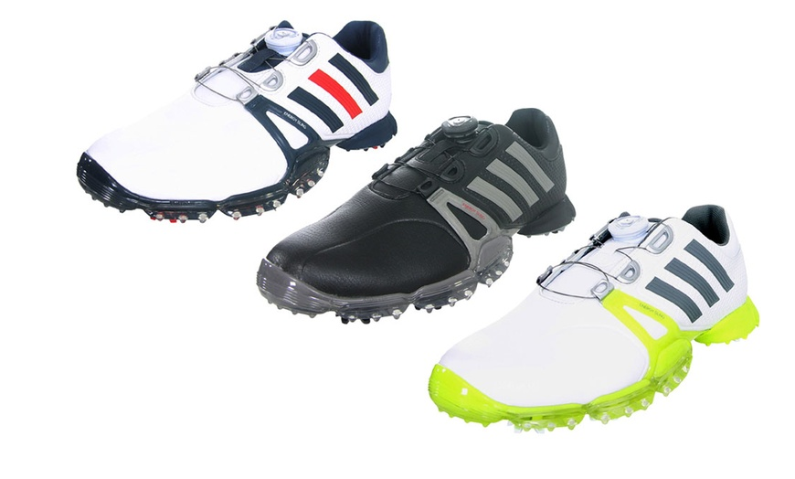 Adidas Men's Powerband Tour Boa Golf Shoes
