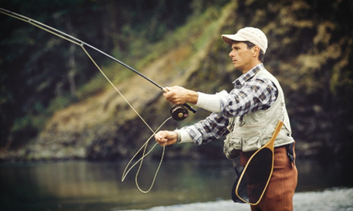 Castaway Fly Fishing Shop - Coeur d'Alene: Beginner Fly-Fishing Class for One or Two from Castaway Fly Fishing Shop in Coeur d'Alene (60% Off)