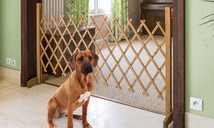 Barrière extensible pour animaux