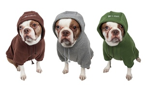 Ultra-Plush Cotton Dog Hoodie