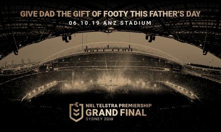 NRL Telstra Premiership Grand Final 2019: Tickets , 6 October 2019, ANZ Stadium, Sydney