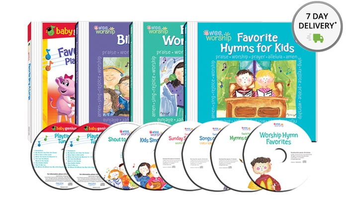 Baby Genius Wee Worship 8-CD Bundle: Baby Genius Wee Worship 8-CD Bundle. Free Returns.